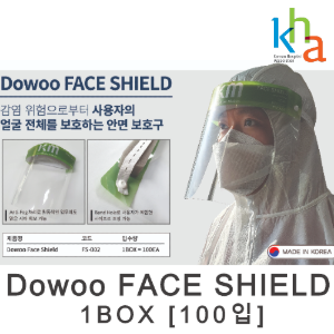 Dowoo FACE SHIELD (100입)